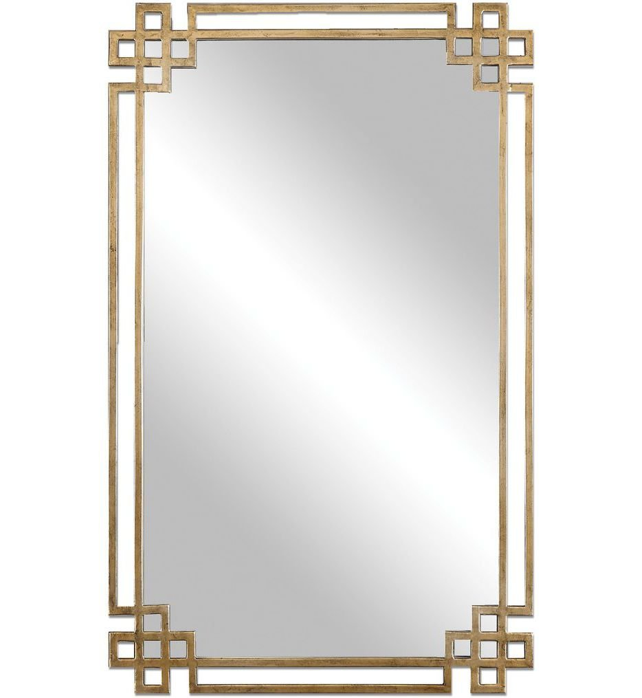 Devoll Antique Gold Mirror