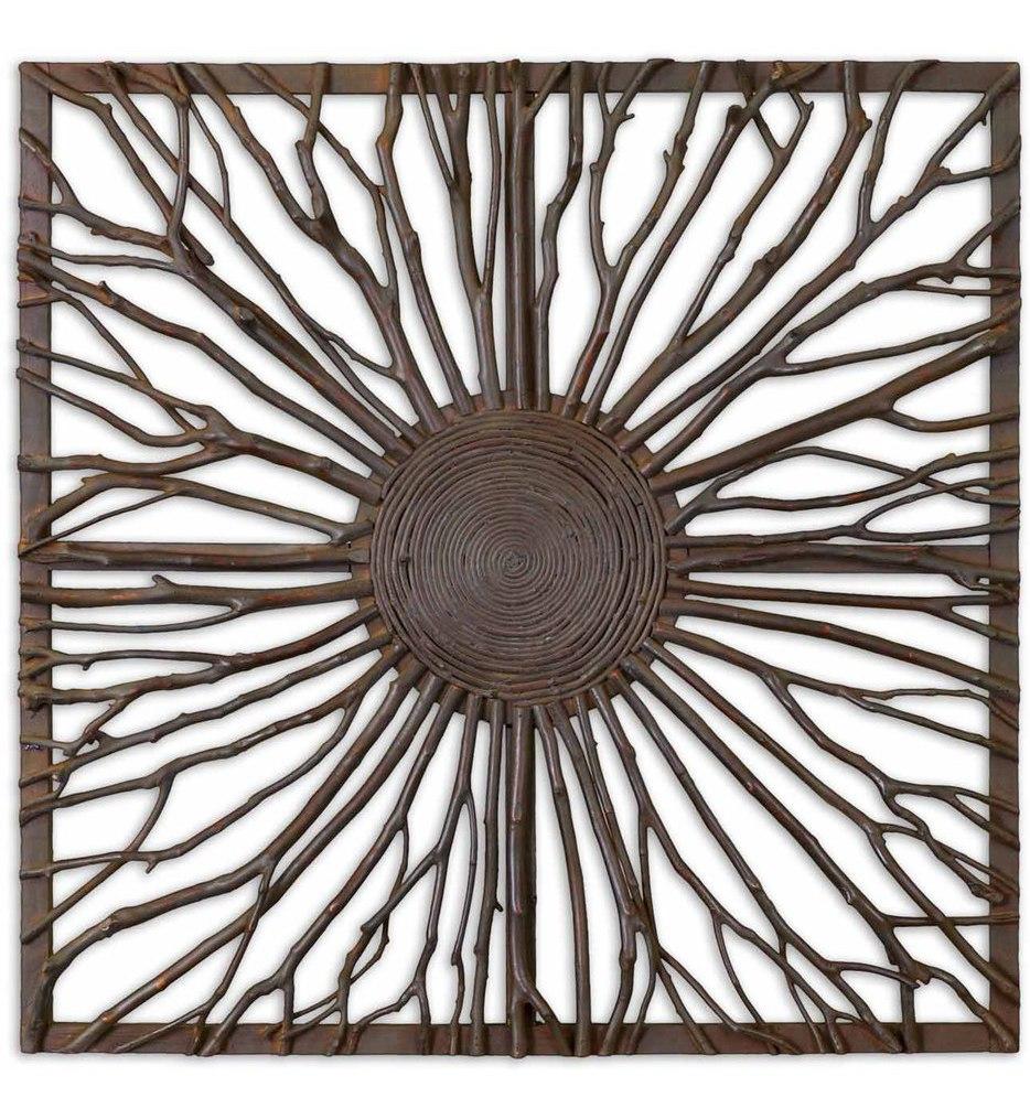 Josiah Square Wooden Wall Art