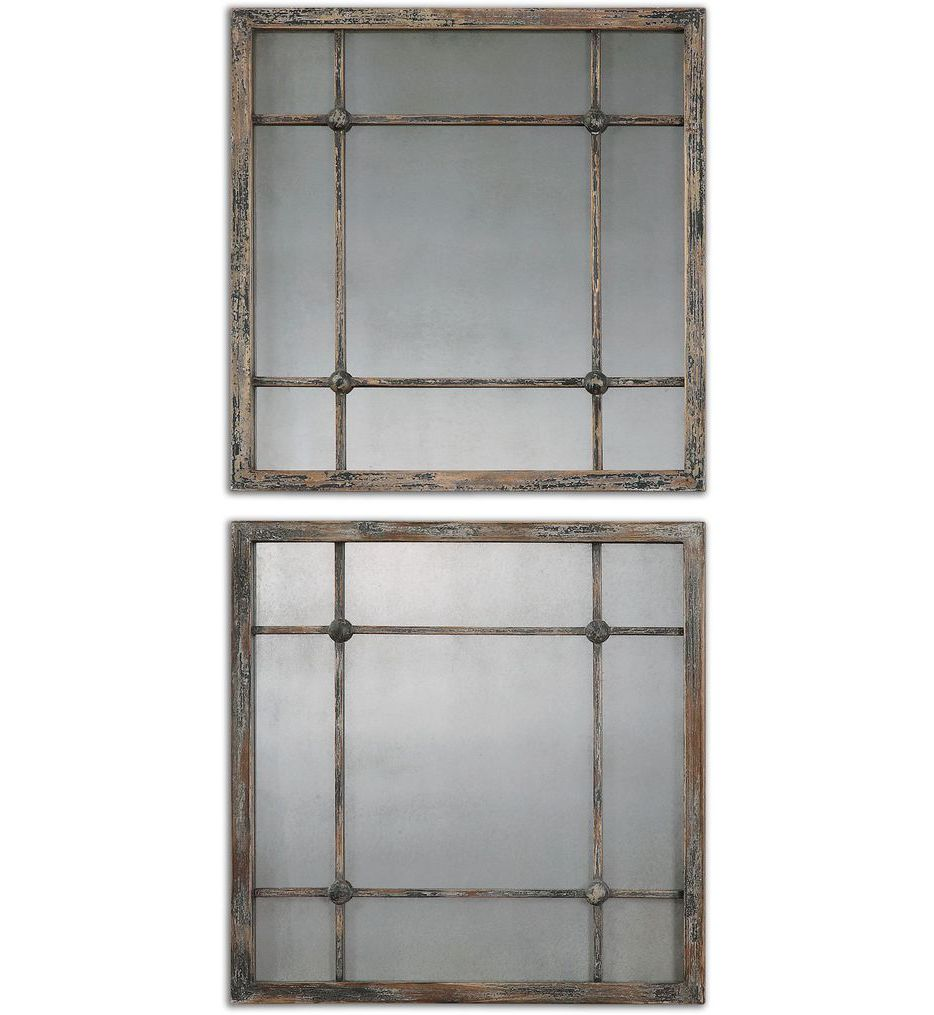 Saragano Square Mirrors (Set of 2)