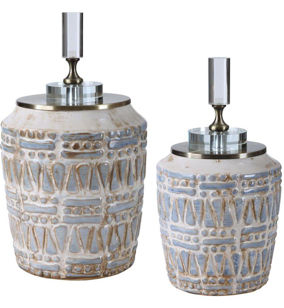 Lenape Ceramic Bottles (Set of 2)