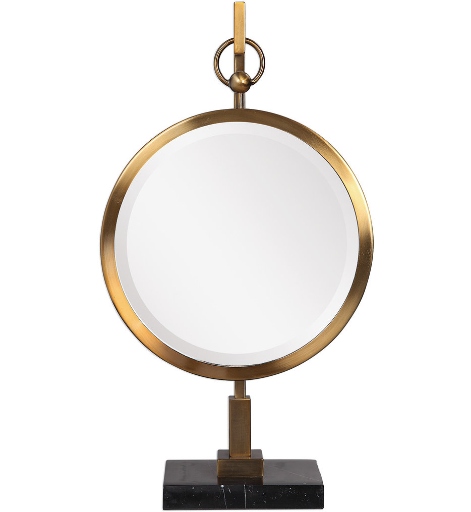 Nori Bronze Tabletop Mirror