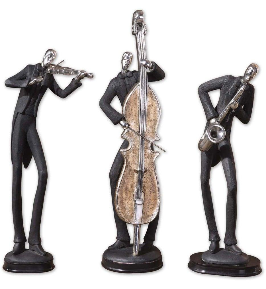 Musicians Decorative Figurines (Set of 3)