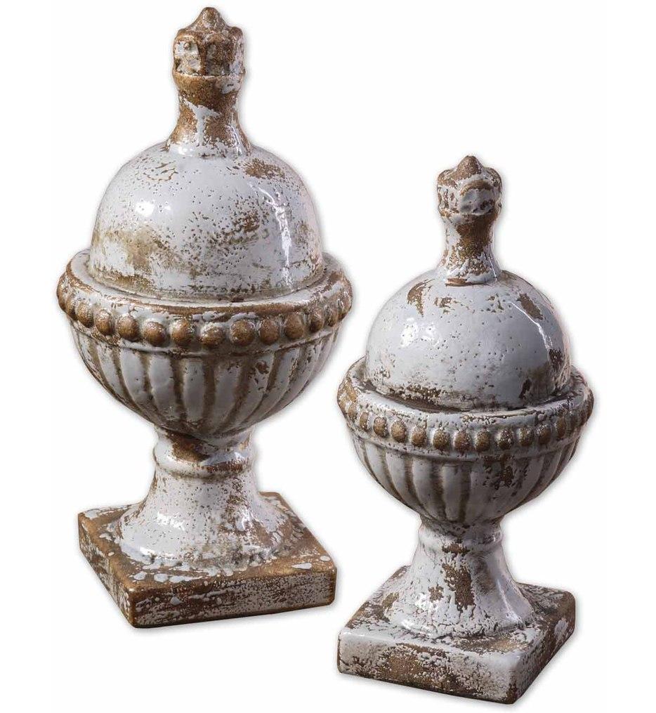 Sini Ceramic Finials (Set of 2)
