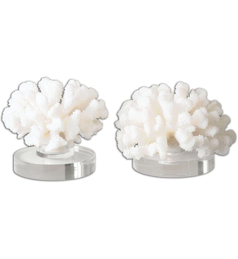Hard Coral Sculptures (Set of 2)