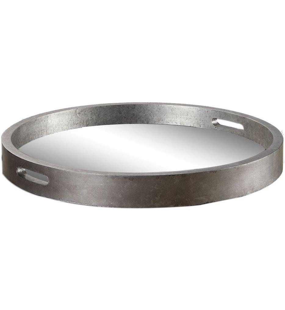 Bechet Round Silver Tray