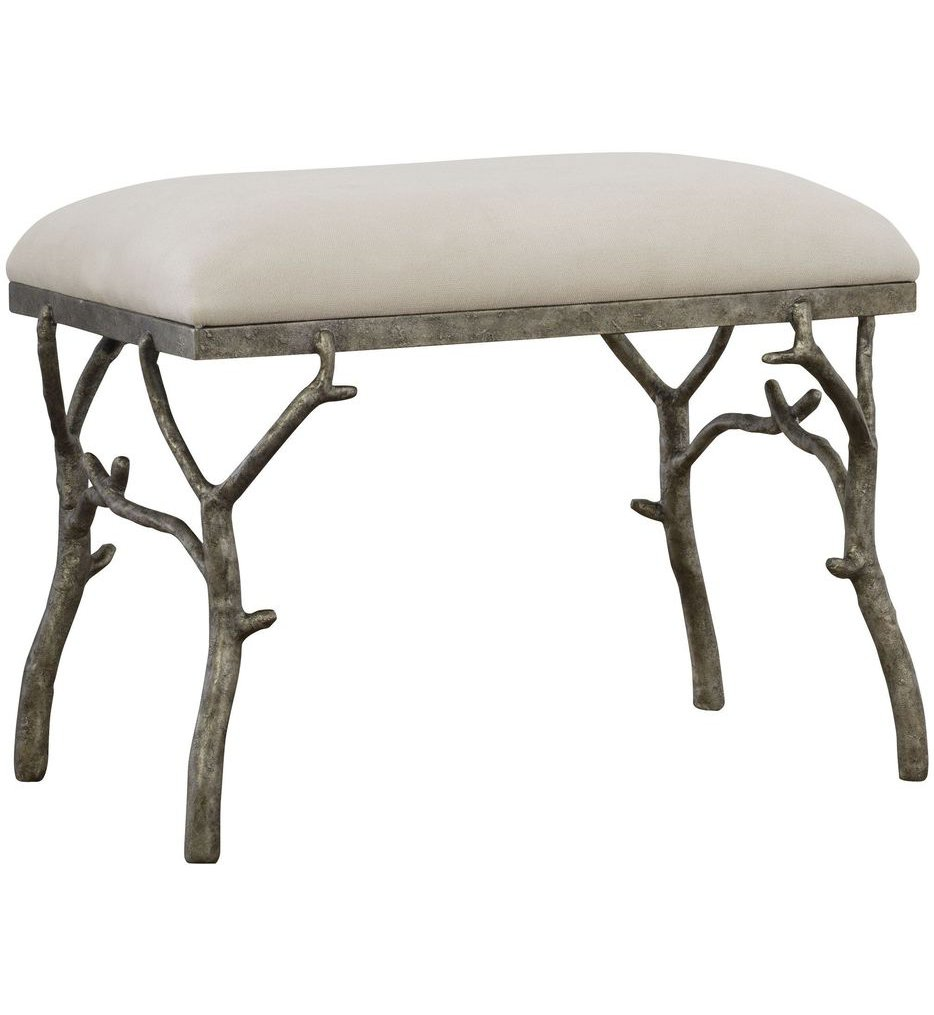 Lismore Small Fabric Bench