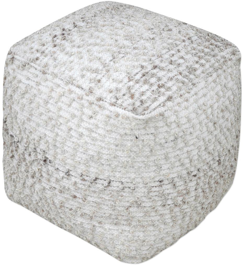 Valda Wool Pouf