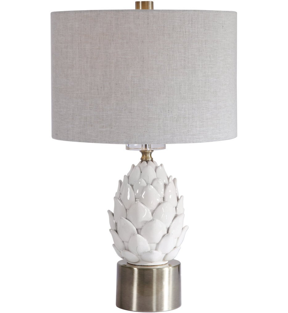 "White 24"" Table Lamp"