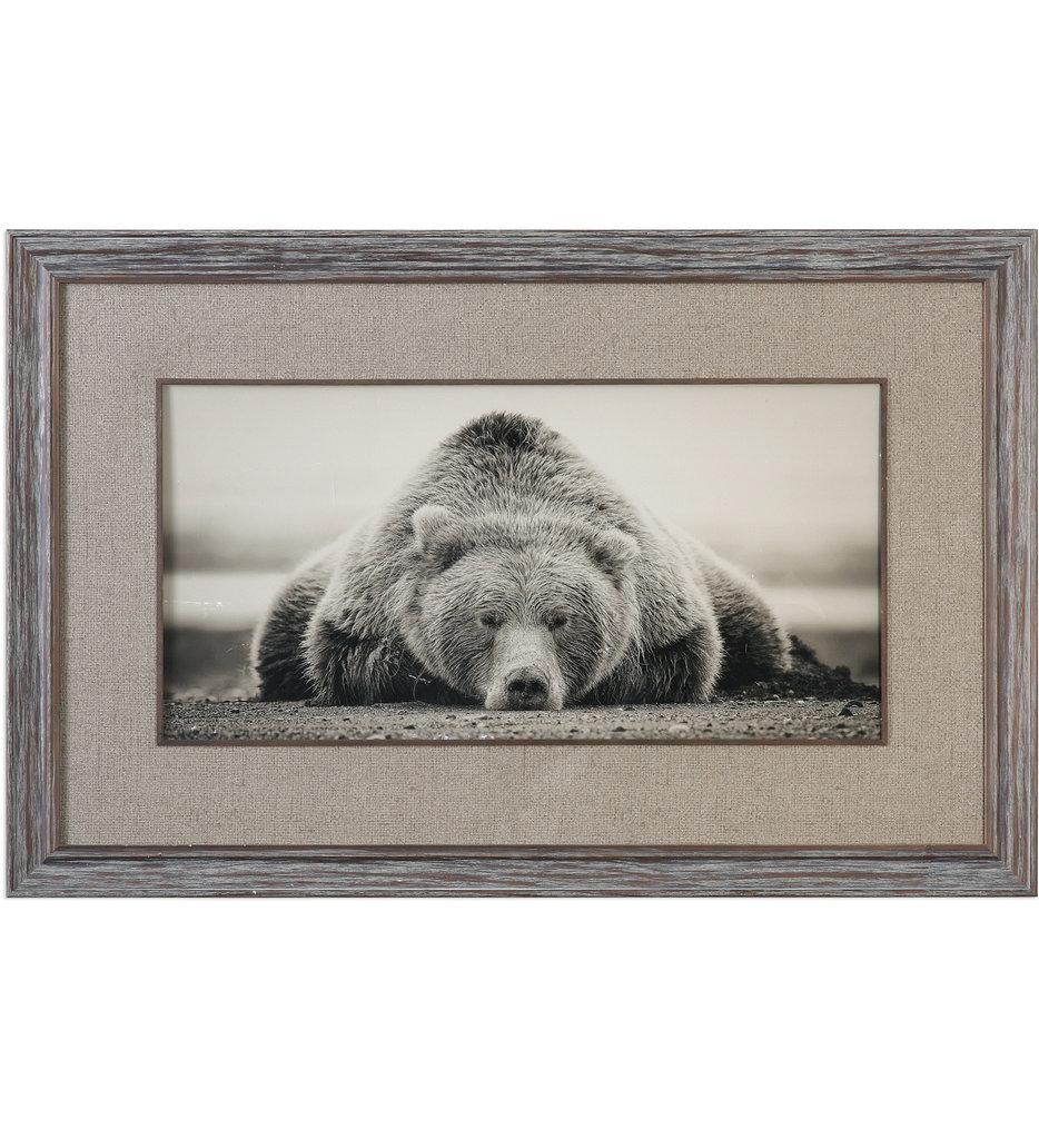 Deep Sleep Bear Print