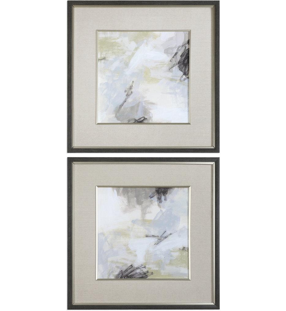 Abstract Vistas Framed Prints (Set of 2)