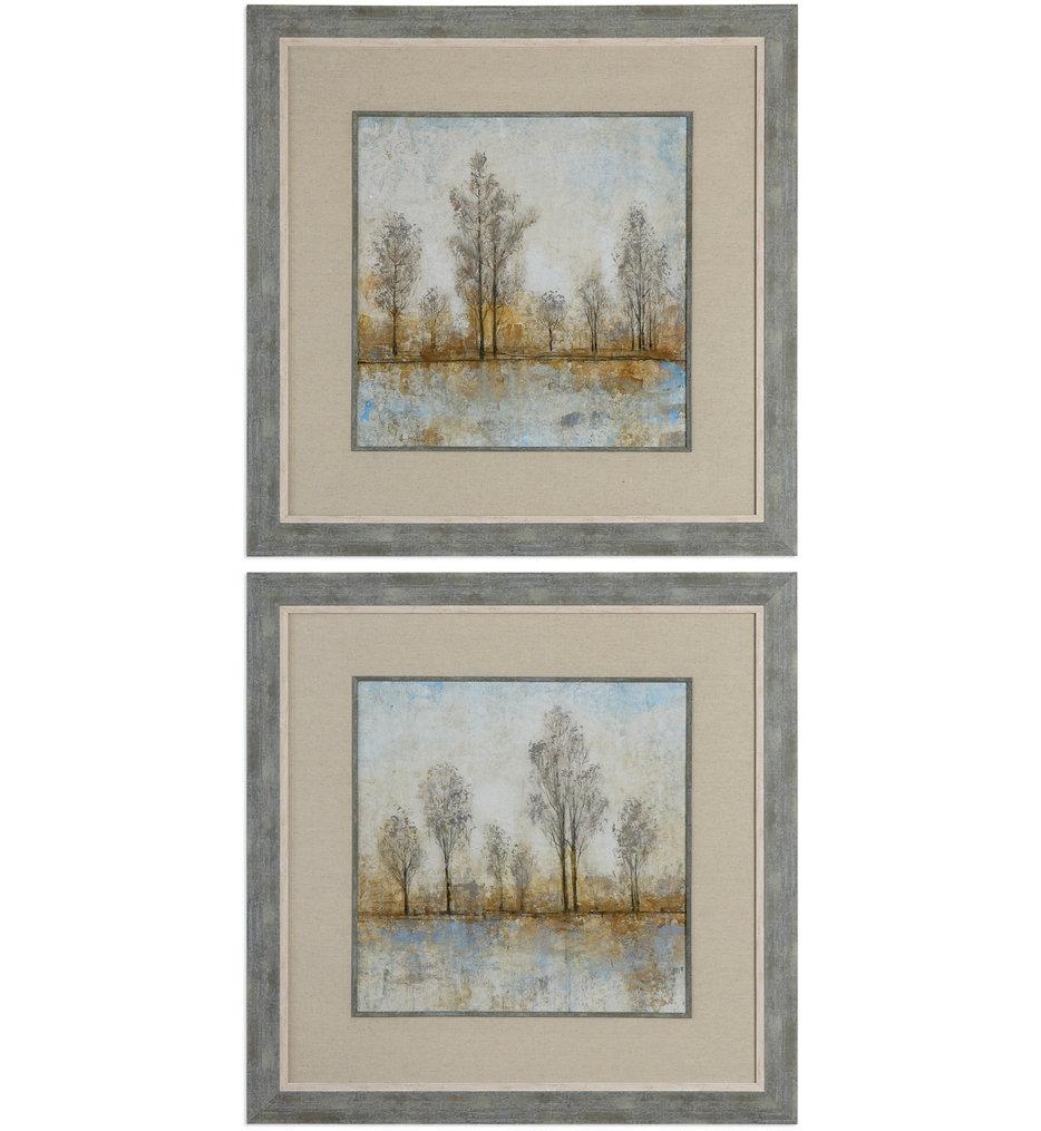 Quiet Nature Landscape Prints (Set of 2)