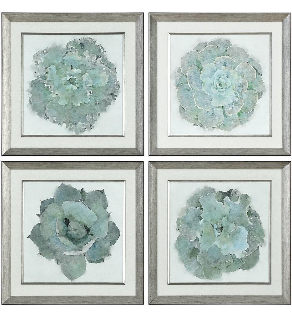 Natural Beauties Botanical Prints (Set of 4)