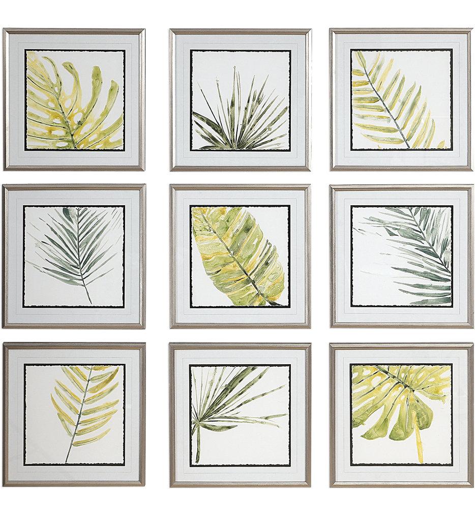 Verdant Impressions Leaf Prints (Set of 9)