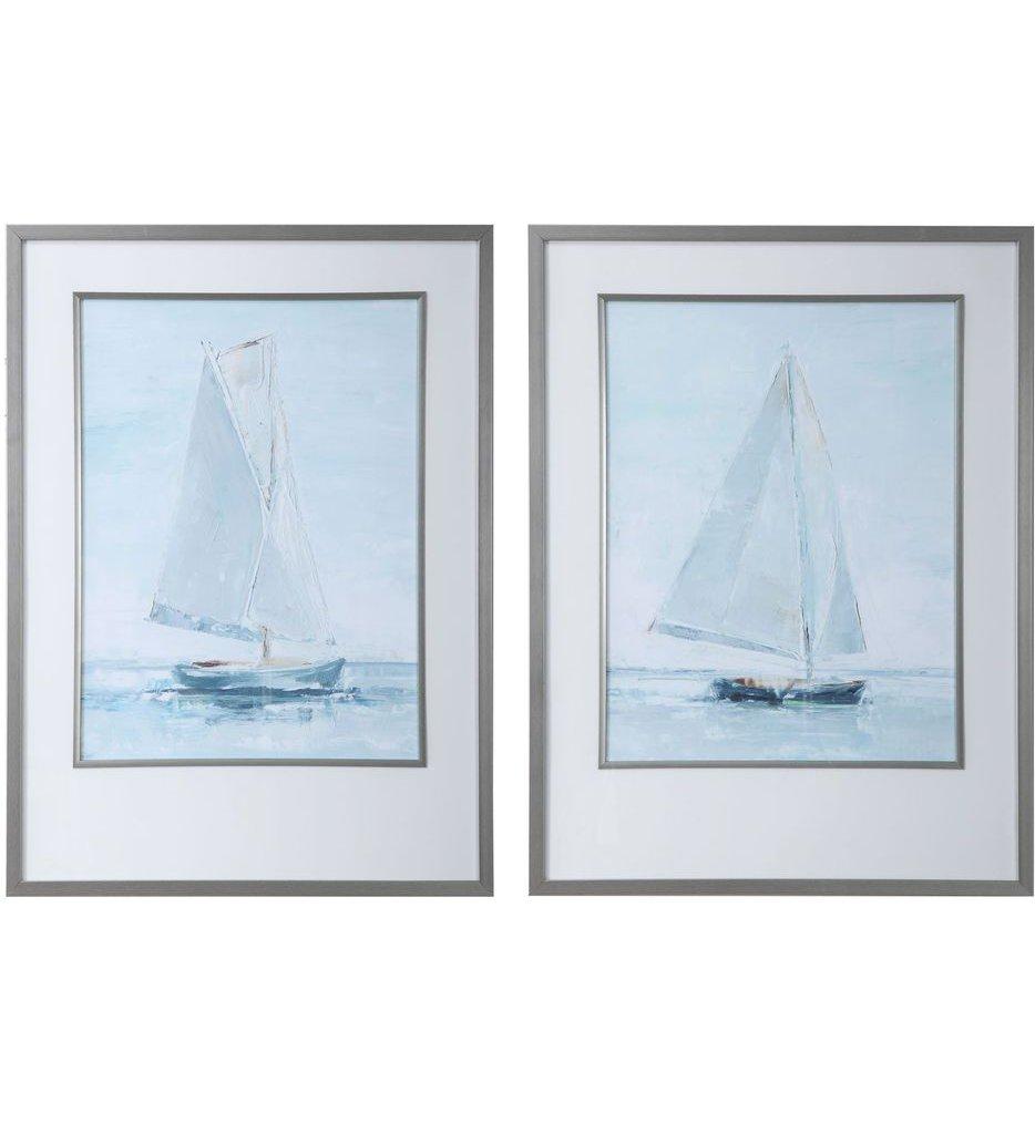 Seafaring Framed Prints (Set of 2)