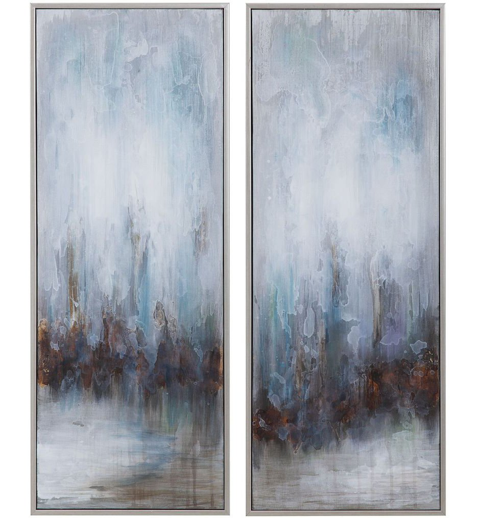 Rainy Days Abstract Art (Set of 2)