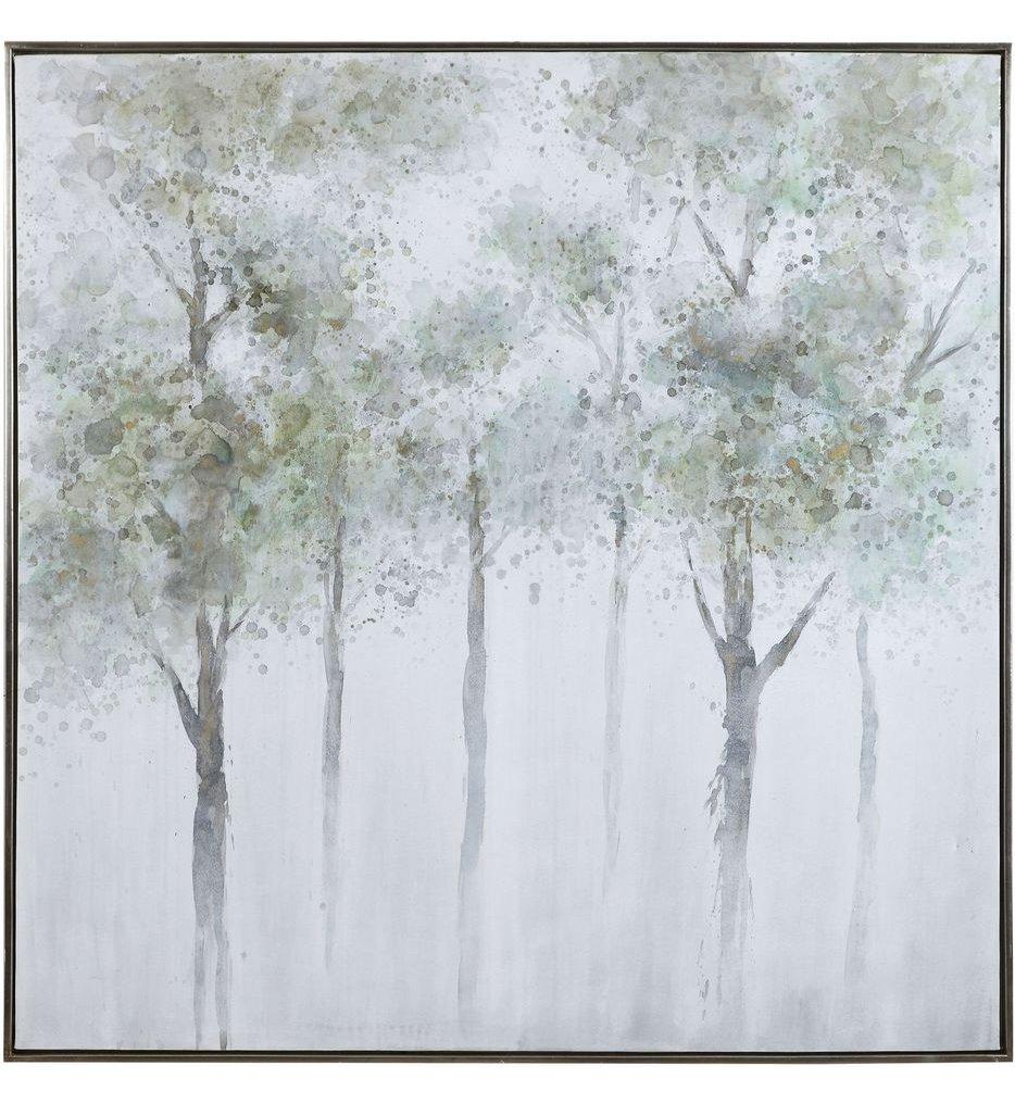 Calm Forest Landscape Art