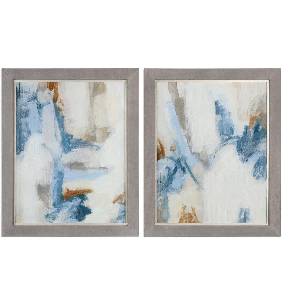 Intermittent Abstract Modern Art (Set of 2)