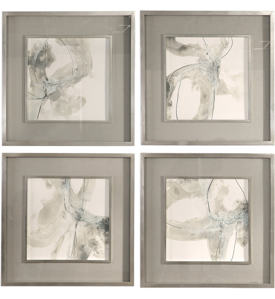 Divination Abstract Art (Set of 4)