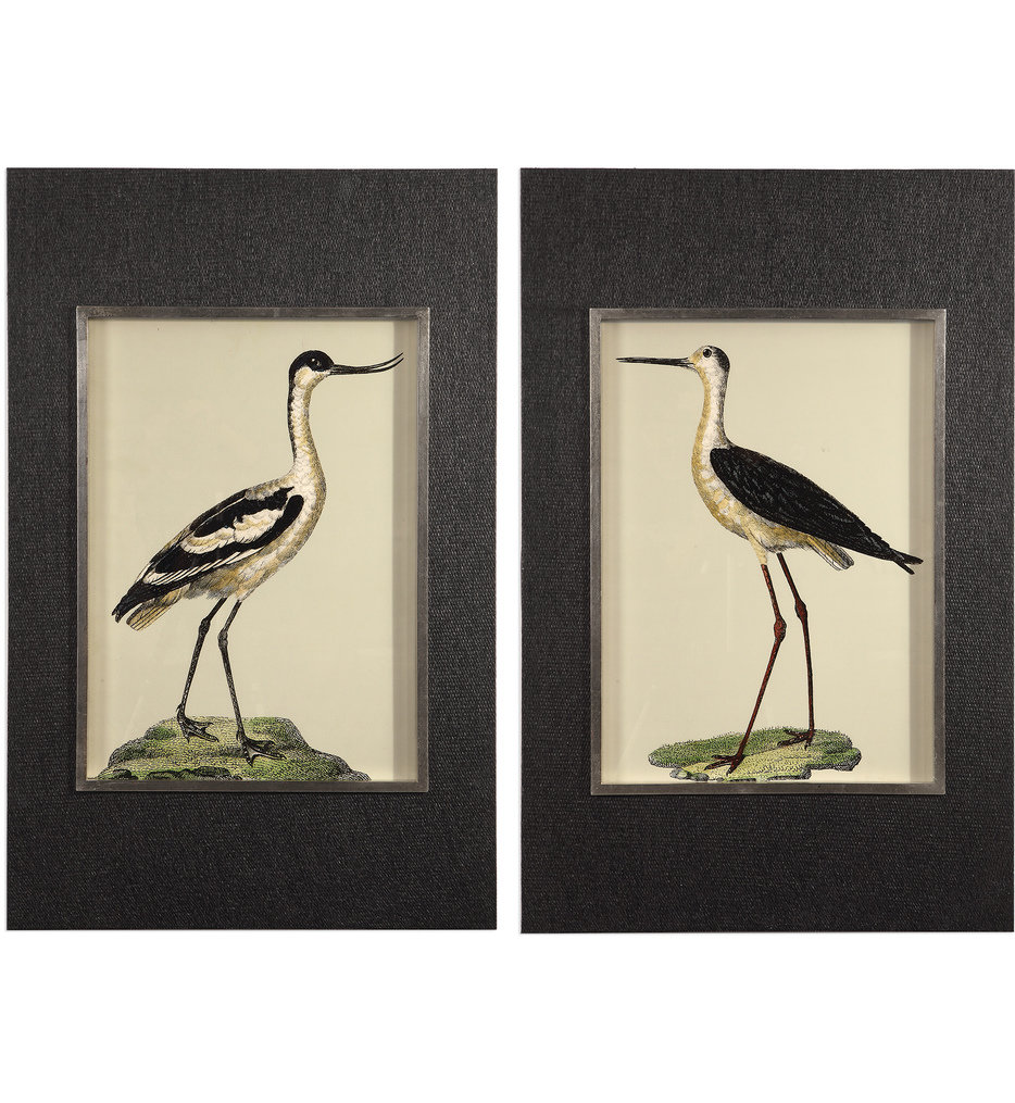 Birds On The Shore Prints (Set of 2)