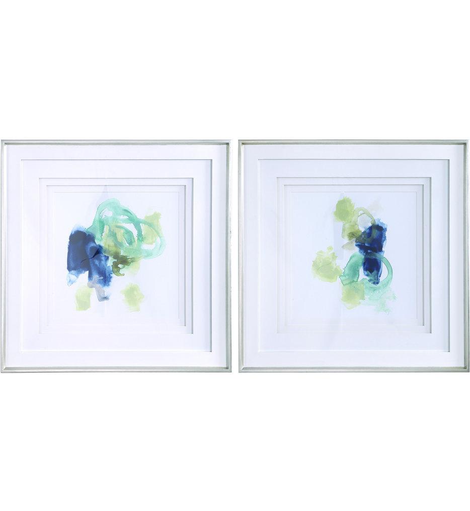 Integral Motion Framed Prints (Set of 2)