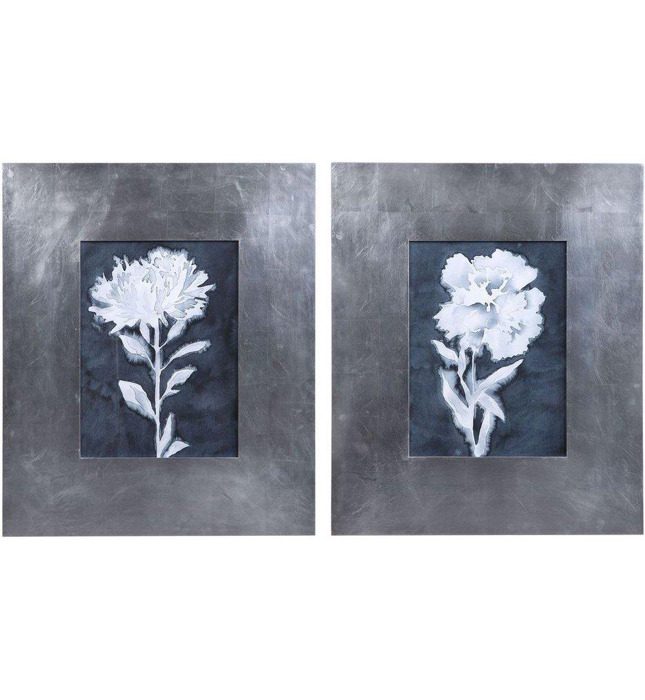 Dream Leaves Floral Prints (Set of 2)