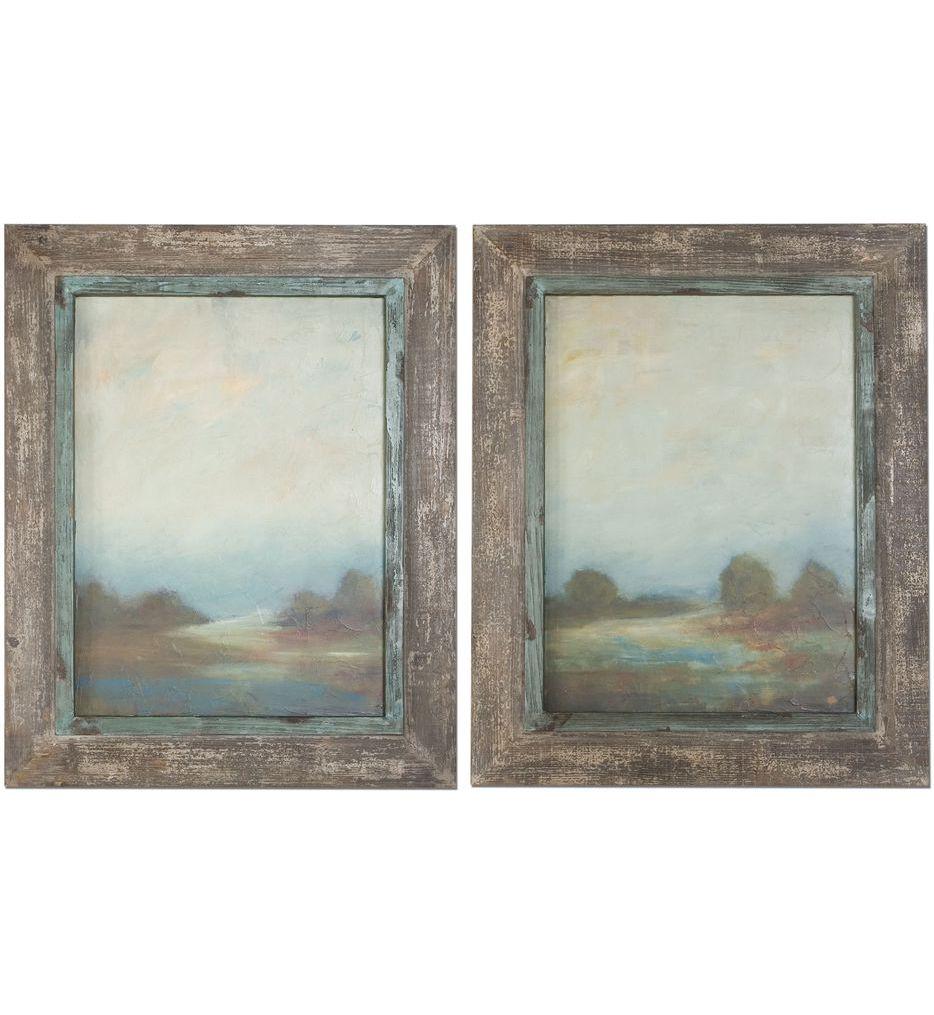 Morning Vistas Framed Art (Set of 2)