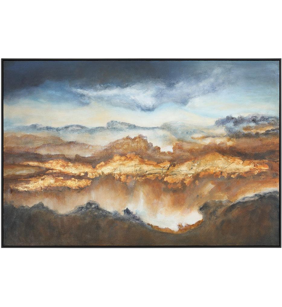 Valley Of Light Landscape Art