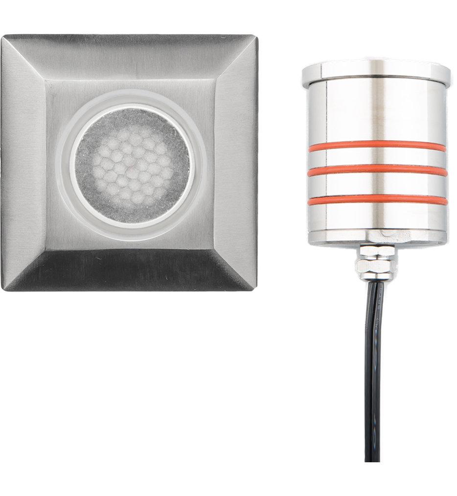 WAC Landscape Squaregrounddicator Light with Honeycomb Louver