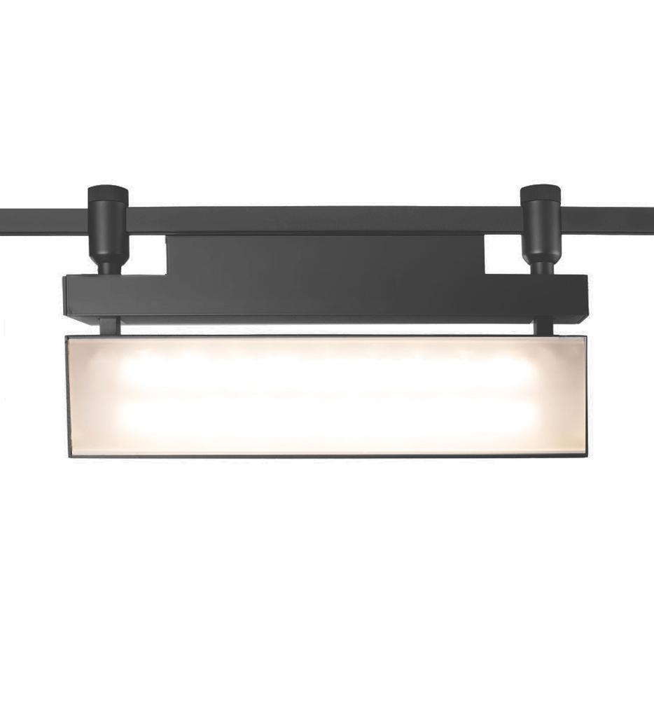 43 Watt Flexrail LED Wall Wash Track Head