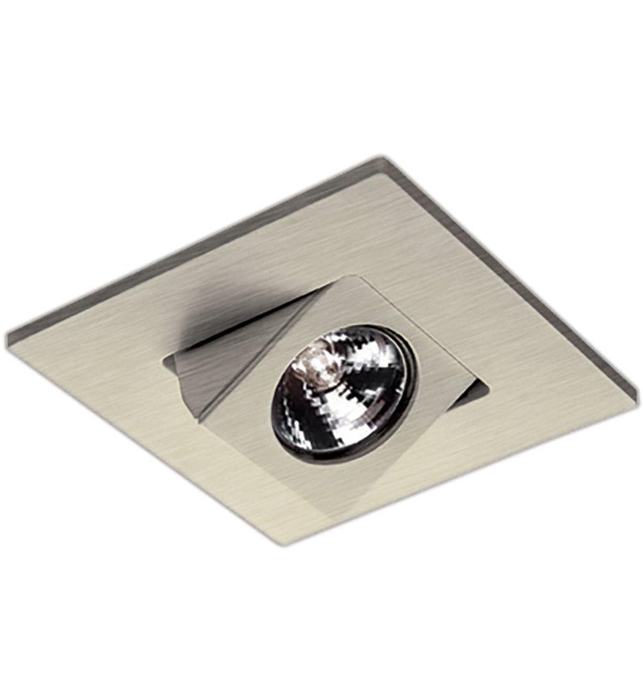 "WAC Square Adjustable Directional 4"" Low Voltage Recessed Trim"