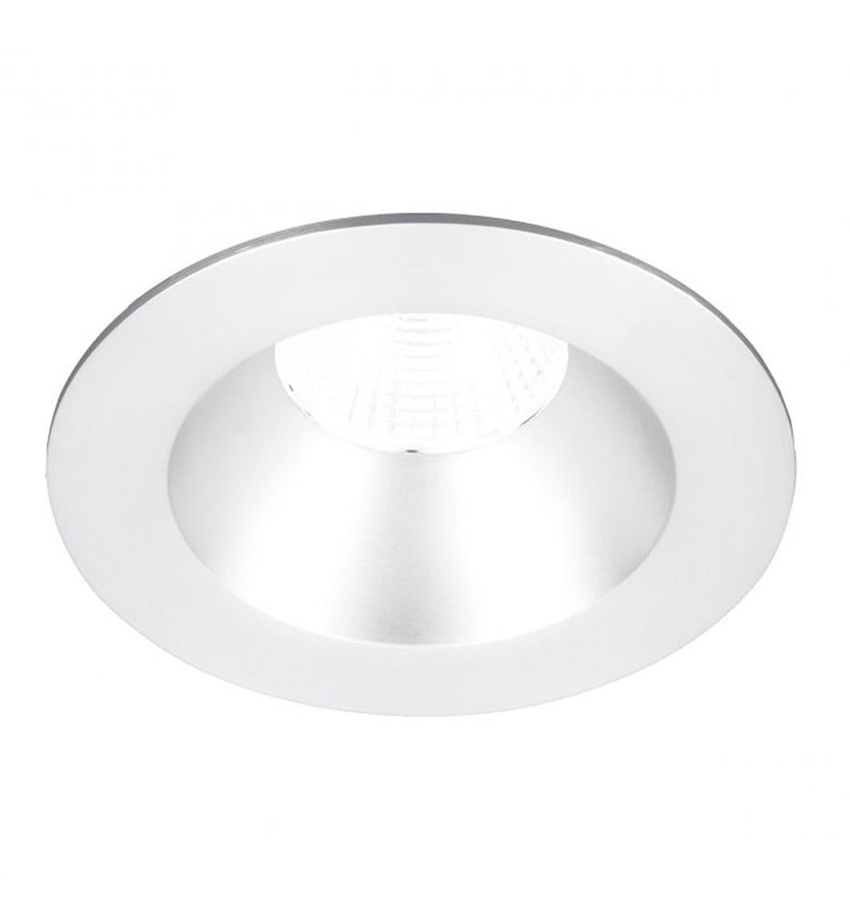 """Oculux LED Flood Beam Round Open Reflector 3.5"""" Recessed Trim"""