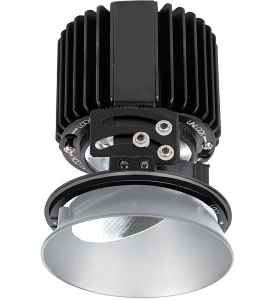 "Volta LED Narrow Flood Beam Round Adjustablevisible 4.5"" Recessed Trim"