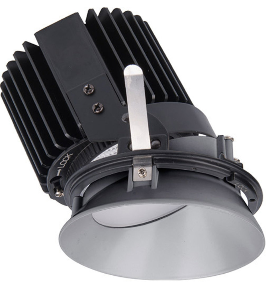"""Volta LED Round Wall Wash Invisible 4.5"""" Recessed Trim"""