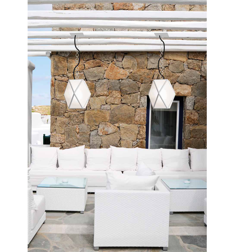 """Muse 15.7"""" Outdoor Pendant"""