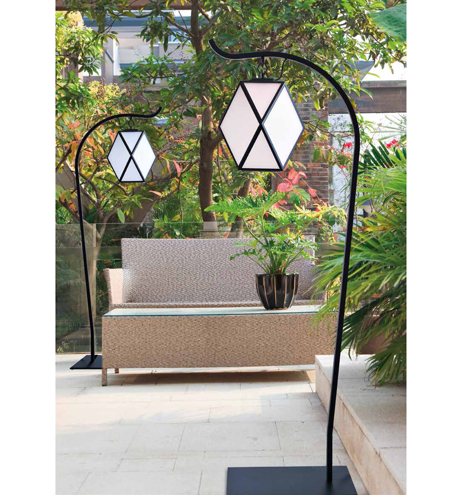 "Muse 78"" Outdoor Floor Lamp"