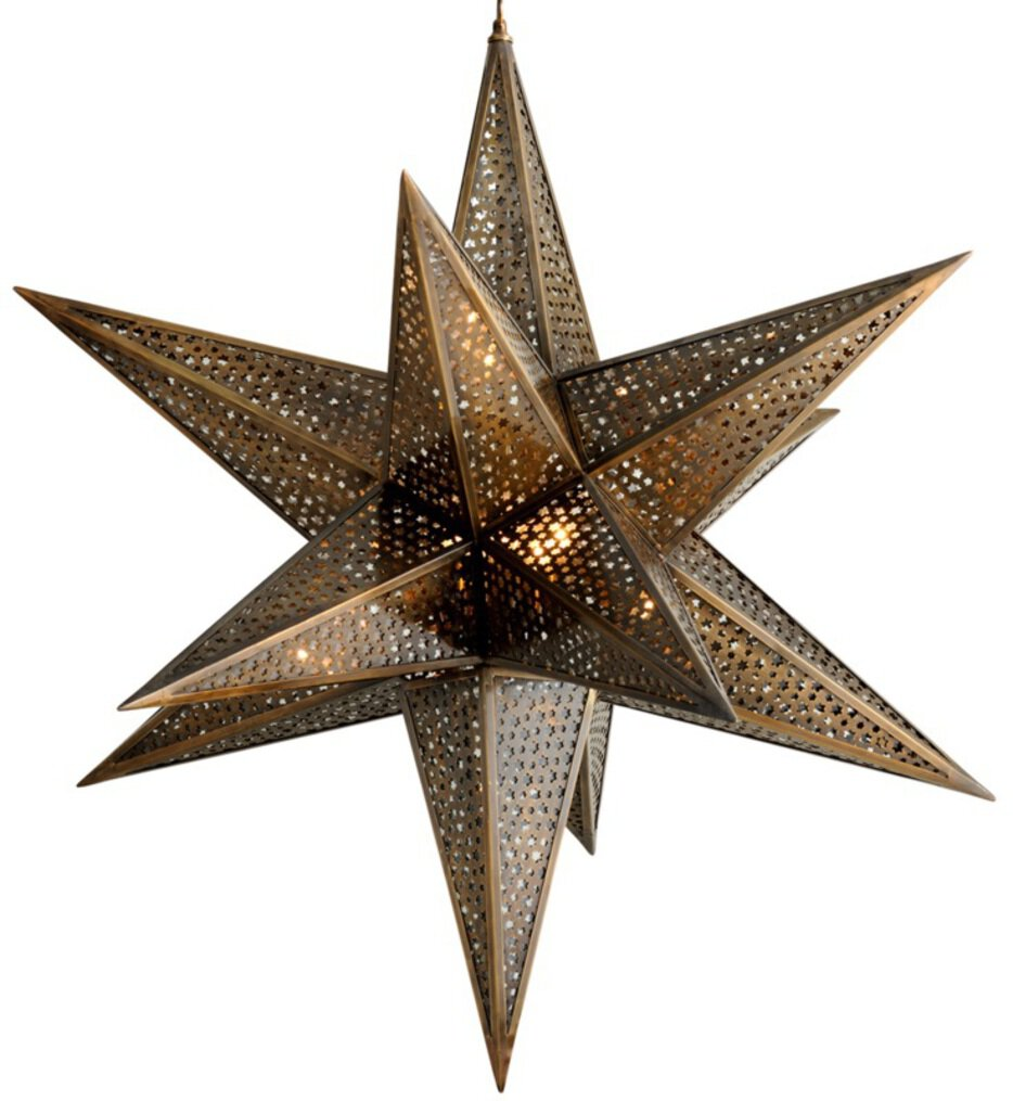 """Star of the East 40"""" Chandelier"""