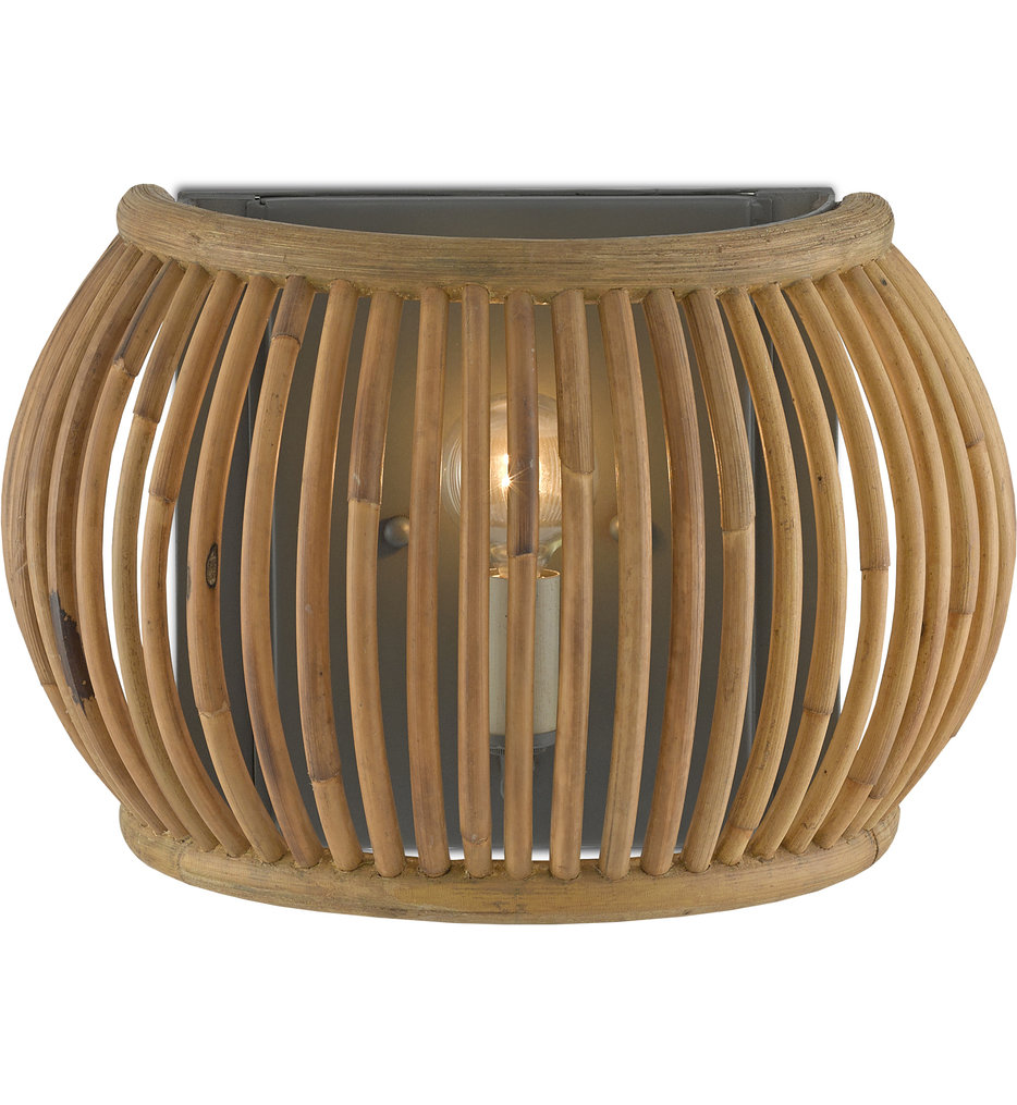"""Africa 8.25"""" Wall Sconce"""