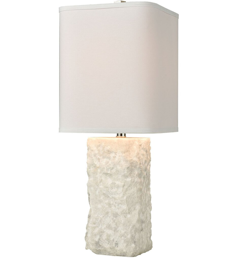 """Shivered Stone 27"""" Table Lamp"""