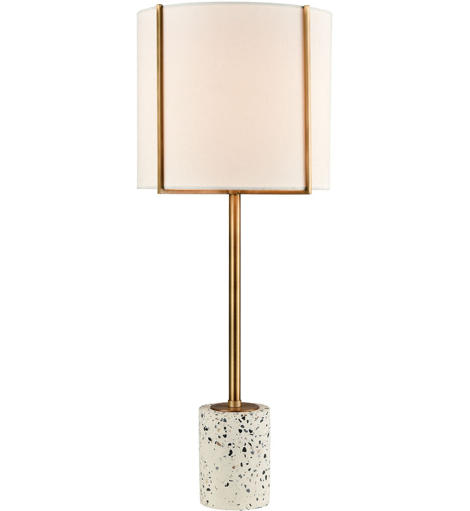 """Trussed 25"""" Table Lamp"""