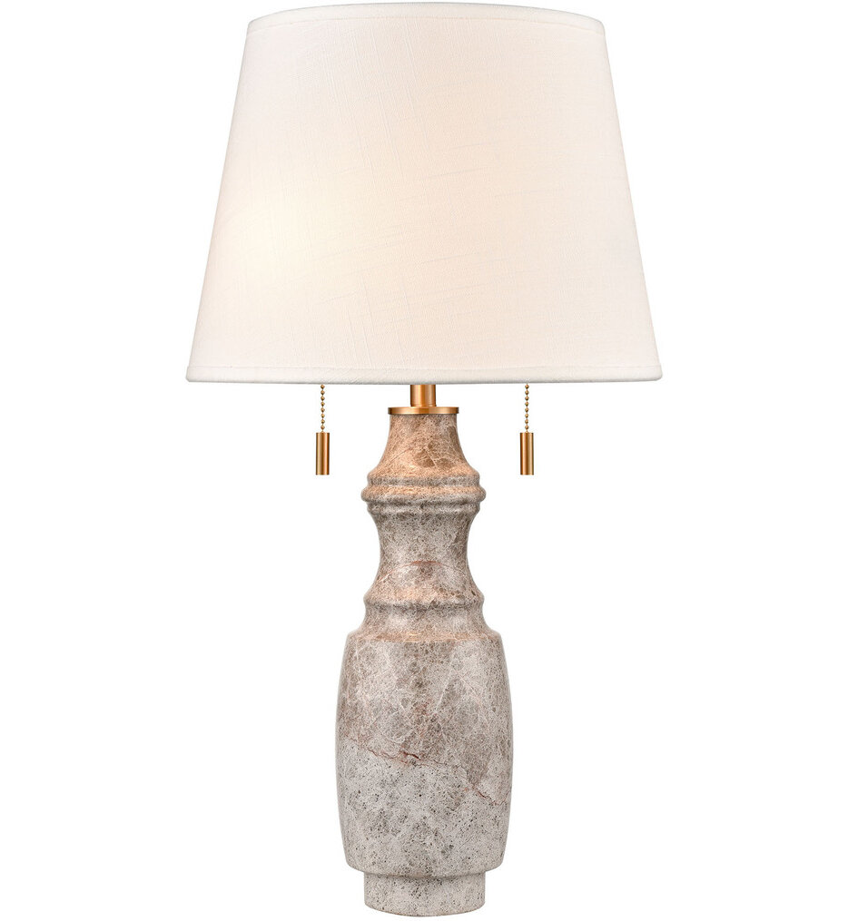 """Stonewall 25"""" Table Lamp"""