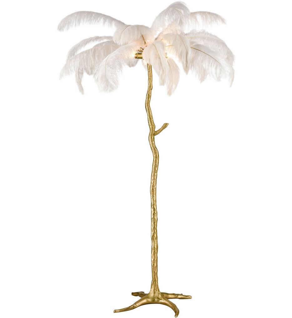 """Moorea Floor Lamp 63"""" Floor Lamp"""