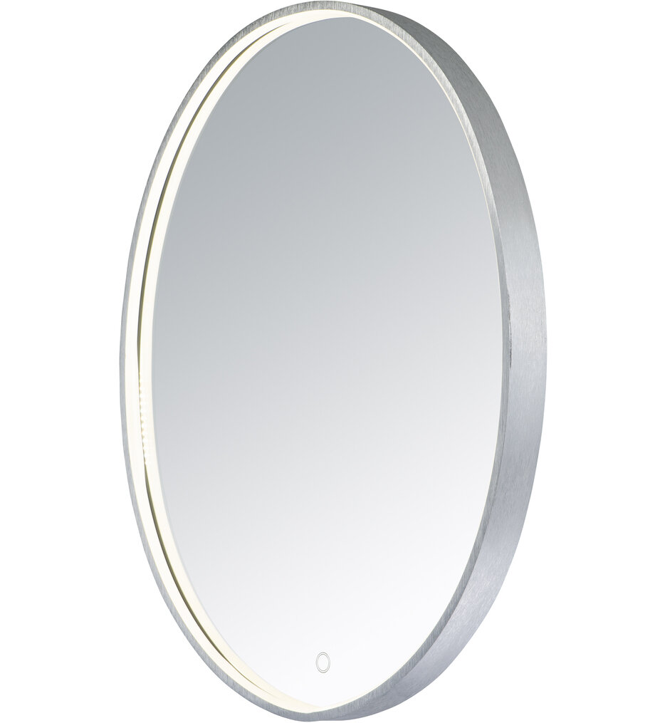 "Oval 29.5"" Bathroom Mirror"