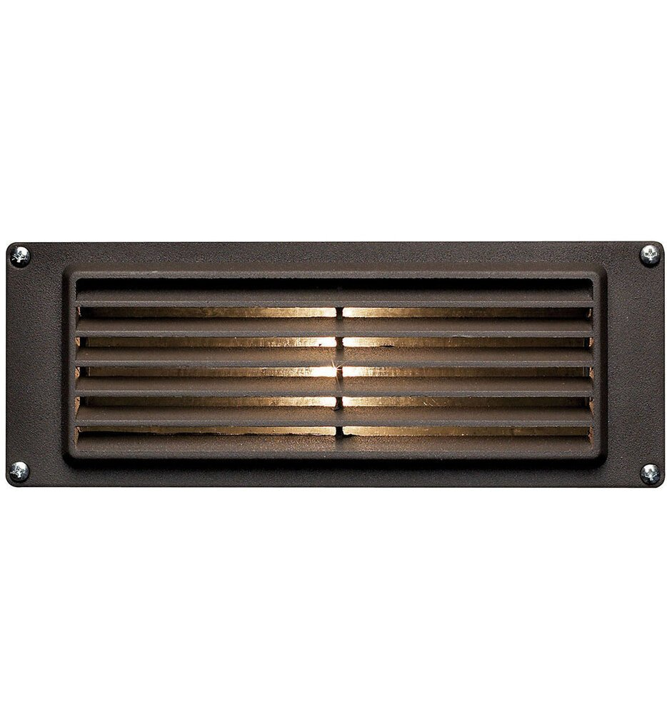 """Deck Louvered 8.75"""" Outdoor Step Light"""