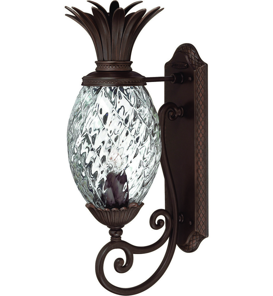 """Plantation 22"""" Outdoor Wall Sconce"""