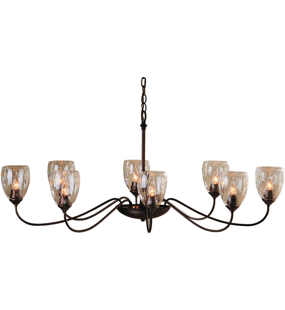 Oval 8 Arm Chandelier