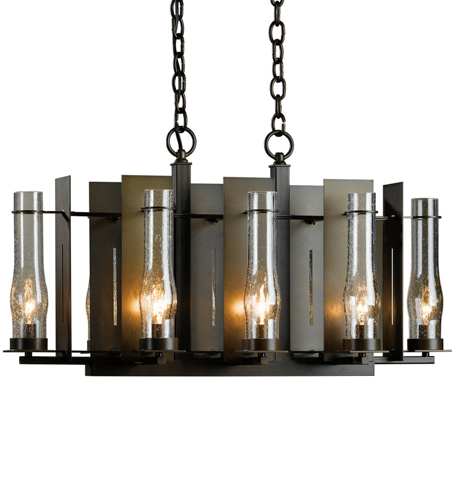 New Town 8 Light Small Chandelier