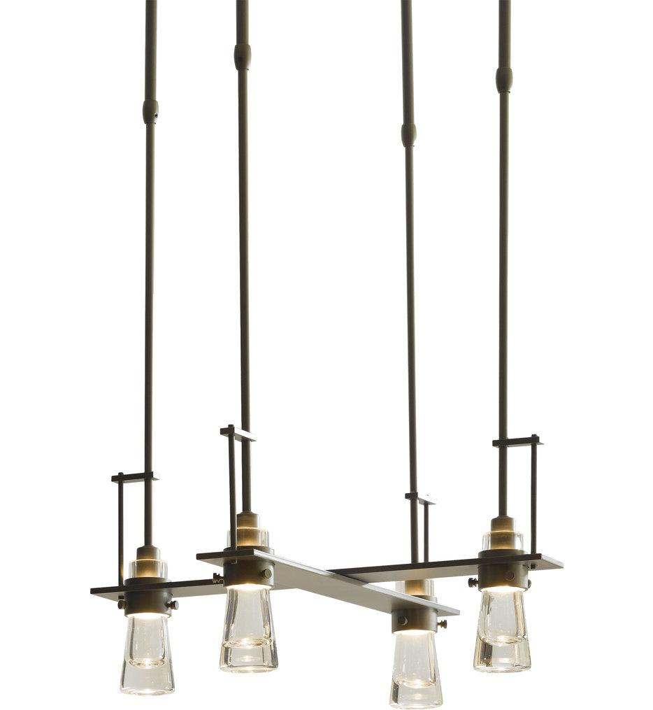 Erlenmeyer 4 Light Pendant