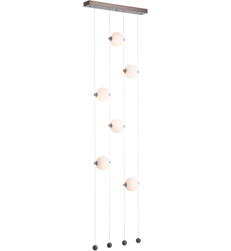 Abacus 6 Light Ceiling to Floor Pendant