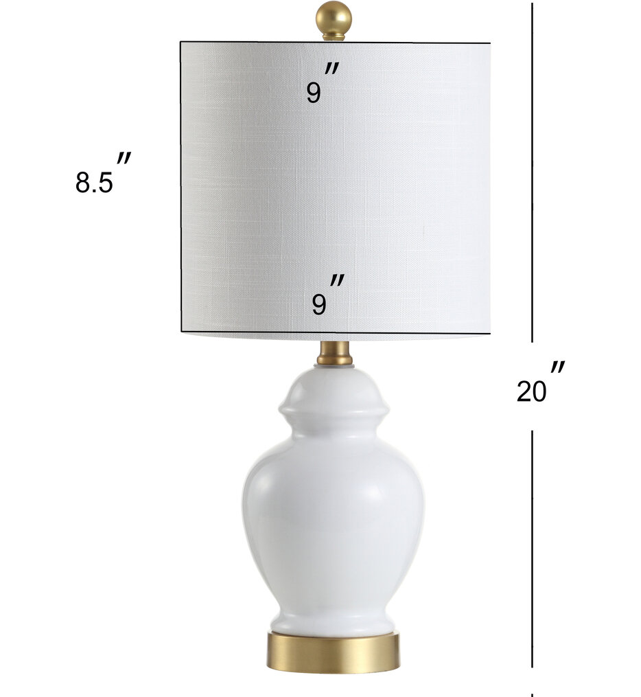 """Perry 20"""" Table Lamp"""