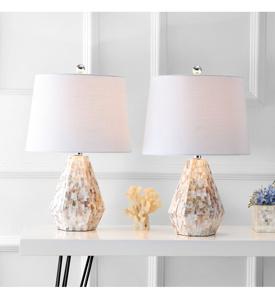 """Isabella 21"""" Table Lamp (Set of 2)"""